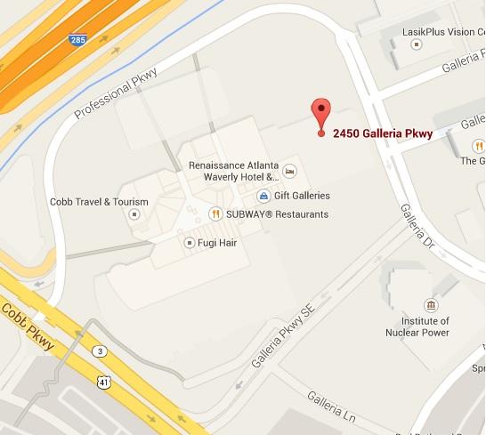 Galleria Google Map