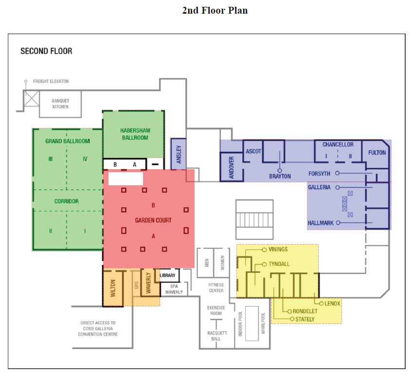 ICNA-Convention-2nd-Floor-Plan